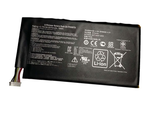 Compatible tablet battery ASUS  for C21-TF500T